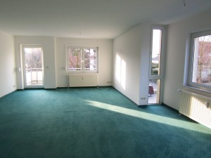 Wohnung in der Karl-Marx-Straße in Bernau, Wohnzimmer