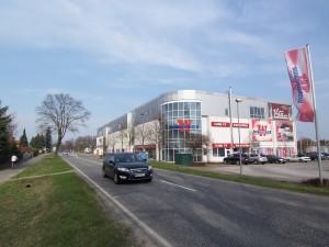 Gewerbefläche im Einkaufszentrum in Bernau zur Miete