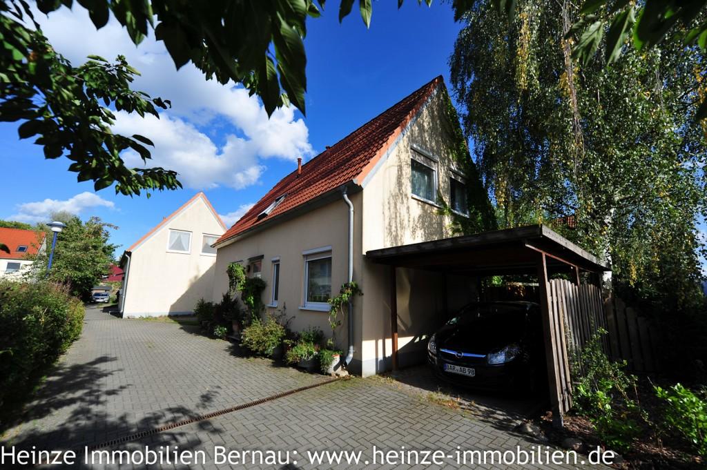 Anlageobjekt: Vermietetes Einfamilienhaus in Bernau OT Schönow zum Kauf