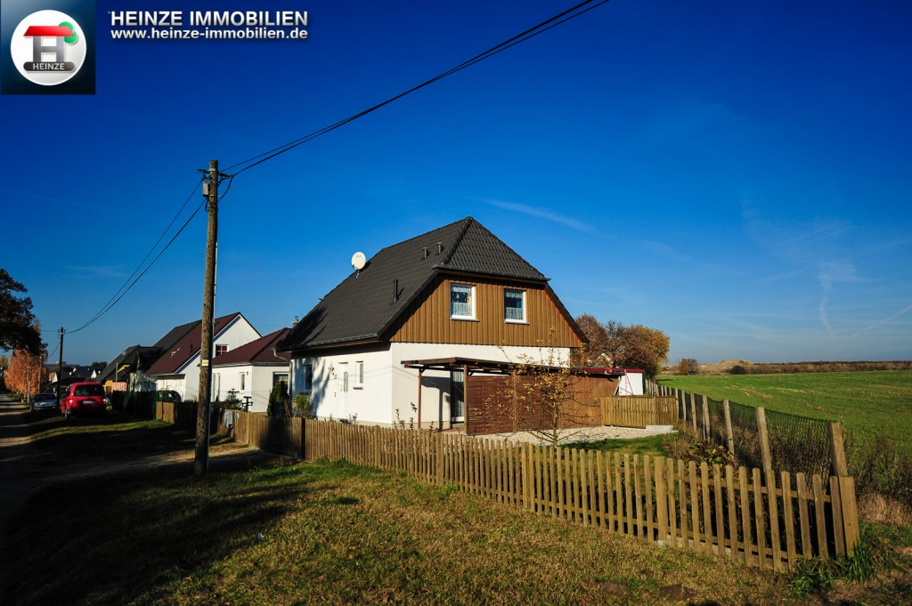 Einfamilienhaus in Bernau-Nibelungen direkt am Feldrand zum Kauf