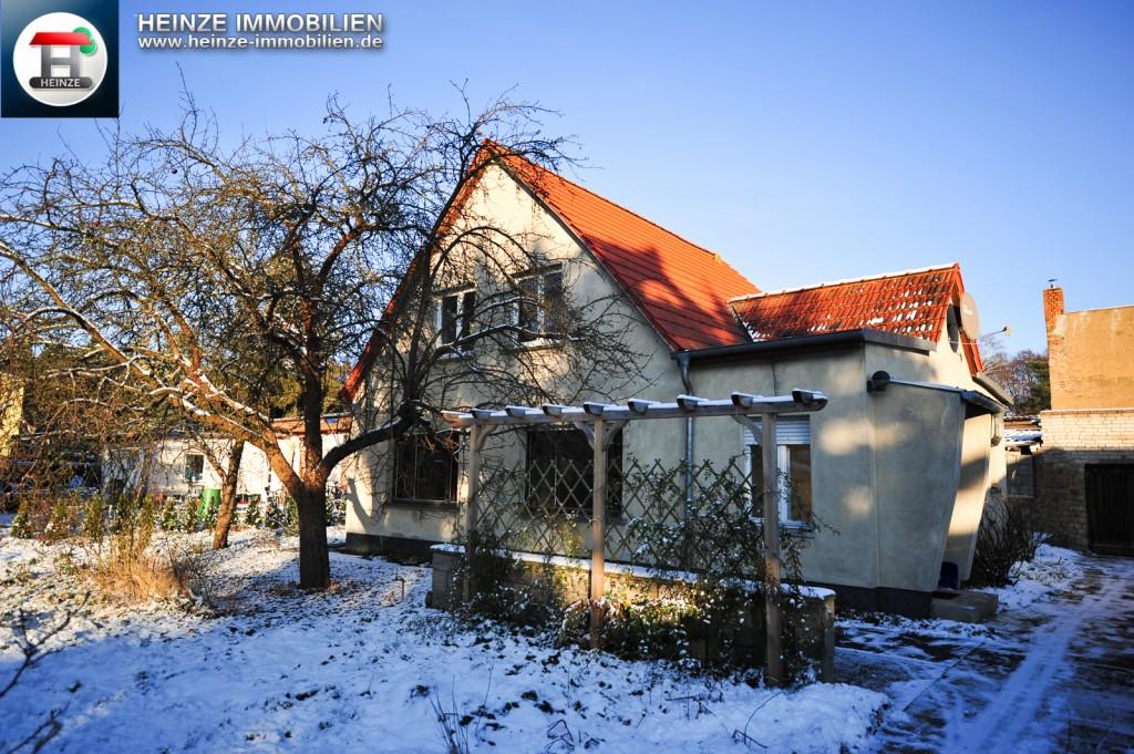 Einfamilienhaus mit Investitionsbedarf in Schönow