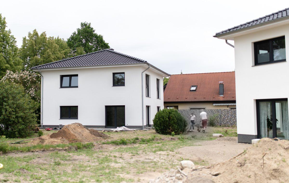 Zwei Stadtvillen in Zepernick zu verkaufen