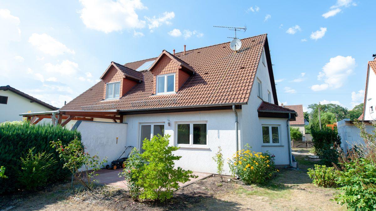Gepflegte Doppelhaushälfte in Bernau-Nibelungen zum Soforteinzug